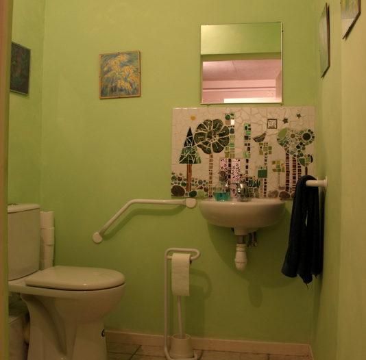 WC handicapé espace aurore aix les bains